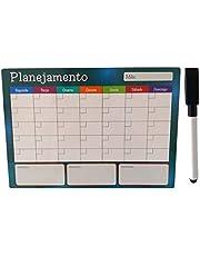 Ima Lousa planner magnetico para planejamento semanal e mensal