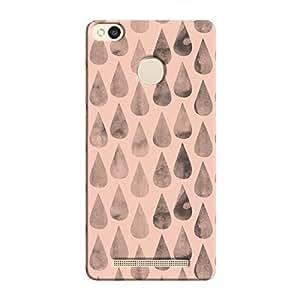Cover It Up - Pink Dark Drops Redmi 3s Prime Hard case