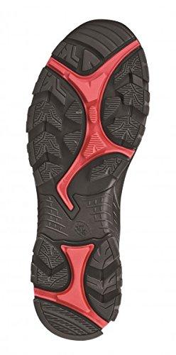 HAIX® Black Eagle Safety 40 Mid black/red. Leichter S3-Sicherheitsschuh in rot/schwarz