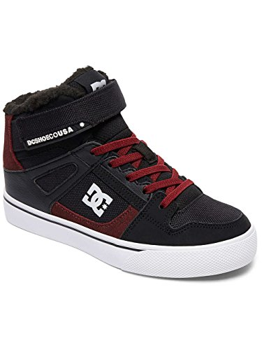 DC Shoes Spartan High WNT Ev, Zapatillas Para Niños BLACK/DARK RED
