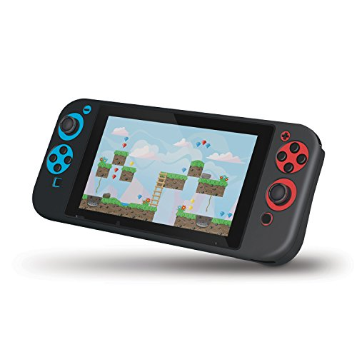 dreamGEAR Comfort Grip for Nintendo Switch - An Ultra-Soft Ergonomic Silicone Case for Comfort and Extreme Protection Against Dust, Dirt, and Fingerprints