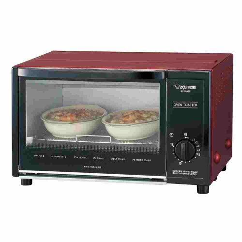 Red toaster oven ZOJIRUSHI ET-WA22-RA