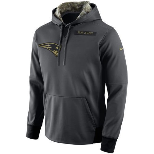f816ec0d994 Amazon.com   New England Patriots 2016 Nike NFL Salute to Service Men's  Hoodie (2XL)   Sports   Outdoors