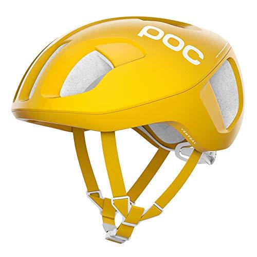 POC(ポック) Ventral SPIN(JCF公認) ヘルメット 9カラー(ロードヘルメット) SulphiteYellow M   B07Q83CL5L