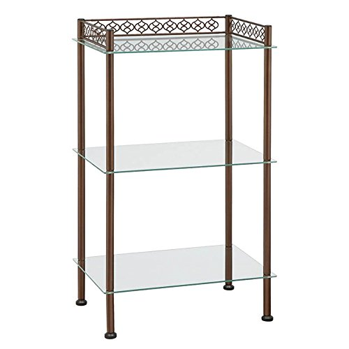 Organize It All 63413W-1 3 Tier Wide Shelf