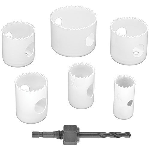 Plumbers Bit Kit (PORTER-CABLE PC3700 Hole Saw Set, 7-Piece)