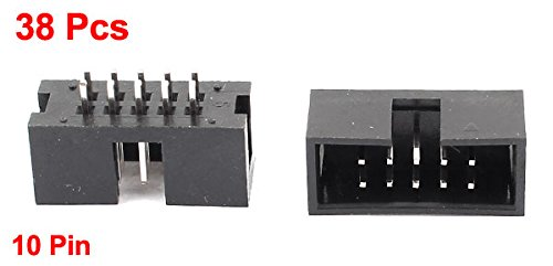 Pack of 10 CW Industries Headers /& Wire Housings IDC Commercial Socket