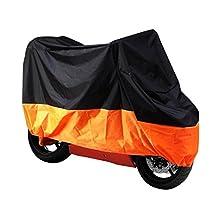 niceEshop(TM) XXL All Season Waterproof Large Motorcycle Cover for Harley Davidson Honda Kawasaki Yamaha Suzuki