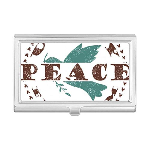 Olive Branch Peace Freedom Symbol Business Card Holder Case Wallet