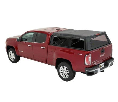 Bestop 7732235 Maroon Black Supertop for Truck 2 Chevy Colorado or GMC Canyon, 6 ft