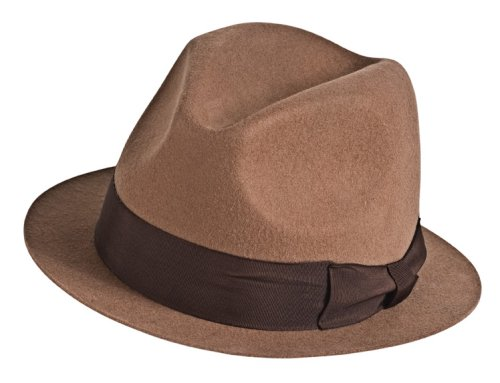 Rorshack Costumes (Watchmen Rorschach Deluxe Hat by Rubie's)