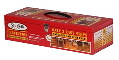 SamaN KR-90 Perfection Sandless and Dust-free Semi-Gloss Floor Restorer Kit