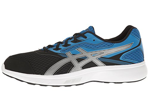 Asics Mens Stormer Running Cross Training Shoes- Imperial/Silver/Black pay with visa sale online 5rg1lYjkls