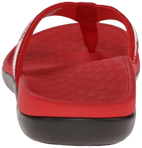 Vionic Flop Women's Flip Arch Support Tide II Red ZvZwxqA