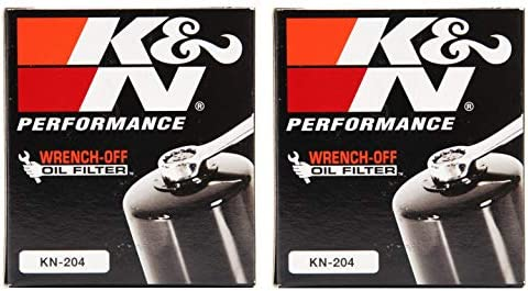 K/&N OIL FILTER 3 Pack KN-204 HONDA KAWASAKI YAMAHA TRIUMPH
