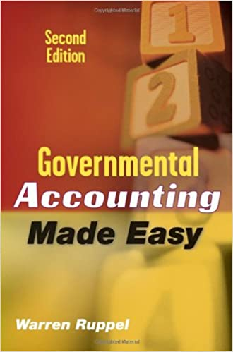 Governmental accounting made easy warren ruppel 9780470411506 governmental accounting made easy warren ruppel 9780470411506 amazon books fandeluxe Images