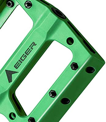 "Mountain Bike Pedals Platform Flat Pedals Wide Nylon Fiber Pedal 9//16/"" Yellow"