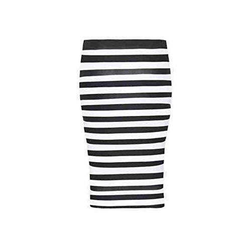 Stripe Donna Rewatronics Astuccio Horizontal Gonna IAqIzxT1wa