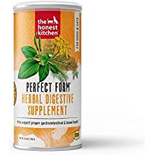 Honest Kitchen The Perfect Form Supplement - Natural Human Grade Digestive Supplement for Dogs & Cats, 5.5 oz