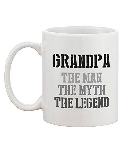 Grandpa Man Myth Legend Coffee Mug