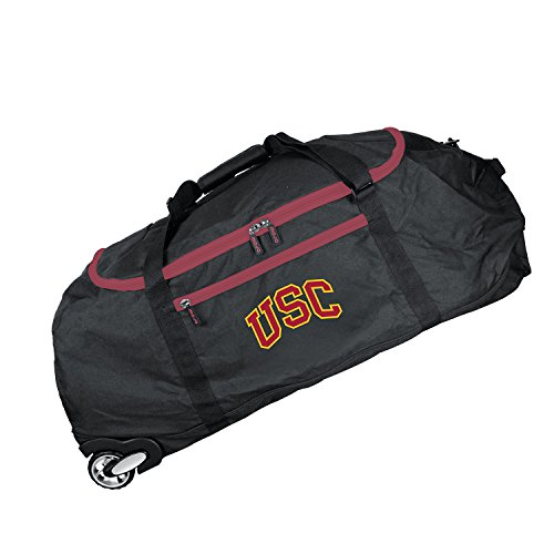 NCAA USC Trojans Crusader Collapsible Duffel, 36-inches