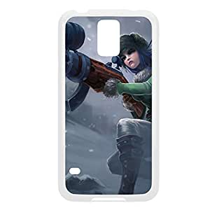 Caitlyn-002 League of Legends LoL For Case Iphone 6 4.7inch Cover - Plastic White