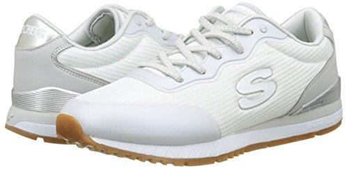 Blanco Skechers Zapatillas vega white Cordones Para Mujer Sunlite Sin U0Ugqw1