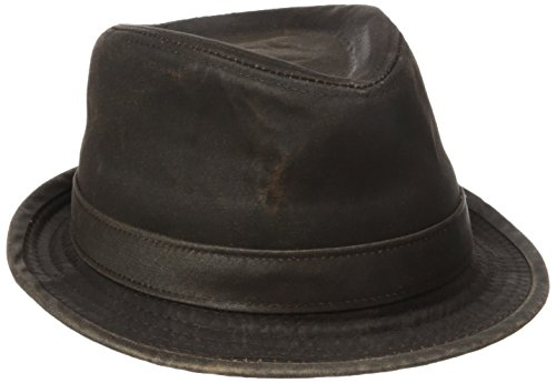 f7df4a271 Stetson Men's Weathered Cotton Ivy Cap, Brown, X-Large - STC138-BRN4 ...