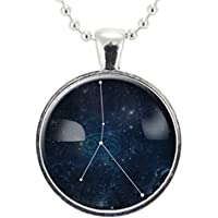 Cancer Necklace, Zodiac Jewelry, Constellation Pendant