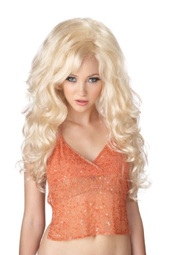 California Costumes Bombshell Wig, Blonde, One Size ()