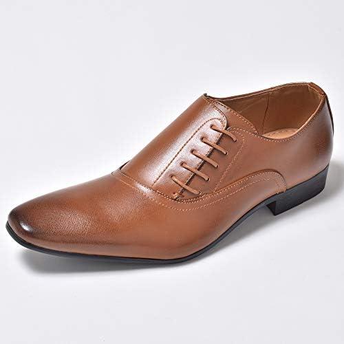 35種類から選ぶビジネスシューズ メンズ レースアップシューズ 外羽根 プレーントゥ 紳士靴 通勤 結婚式 ドレスシューズ BZB010 1