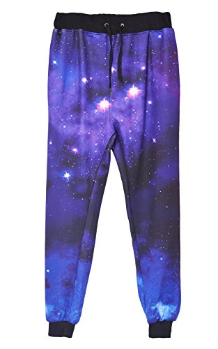 Westkun Men's Galaxy Gym Sport Joggers Sweatpants/Shirts