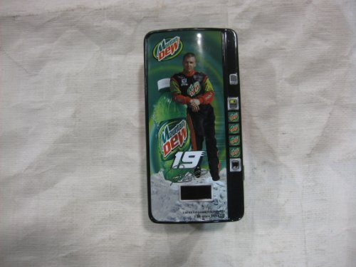 - Jeremey Mayfield #19 Mountain Dew / United Auto Workers (UAW) '02 Dodge Racing Team Displayed in a Completely Detailed Mountain Dew Soda Machine 1:64 Scale Diecast Car LE 1 of 12,660