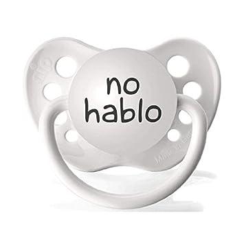 Amazon.com: Personalizado pacifers no hablo Chupete en ...
