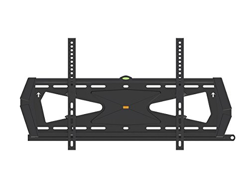 Black Adjustable Tilt/Tilting Wall Mount Bracket with Anti-Theft Feature for LG 65UF7700 65' inch 4K UHD HDTV TV/Television