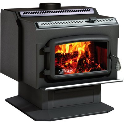 Review Drolet High Efficiency Wood Stove Finest Fires