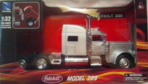 lt 389 Cab Truck (Color May Vary) (Peterbilt Diecast)