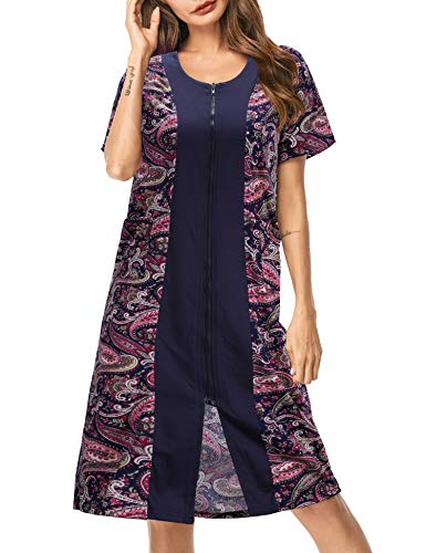 UUANG Nightgown Women