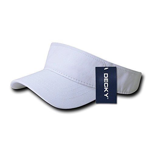 (DECKY Kid's Visor, White)