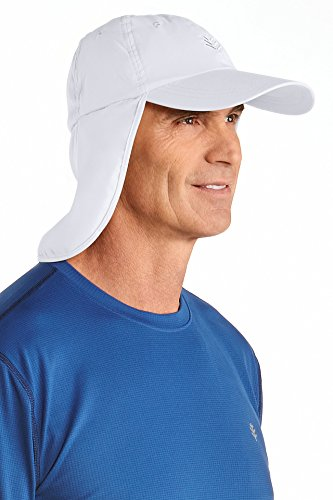 b7849dbf9a9c9 Coolibar UPF 50+ Unisex All Sport Hat (One Size- White) - Buy Online in Oman.