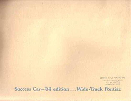 1964 Bonneville Catalina Grand Prix Star Sales Brochure Literature Advertisement - Catalina Grand Prix