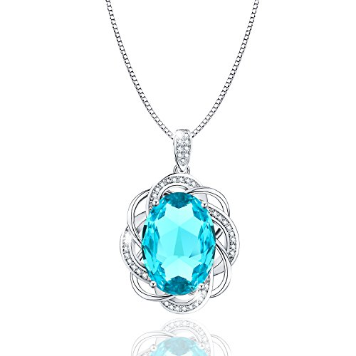 CZ Crystal Pendant Fashion Women's Necklace With Swarovski Elements 18