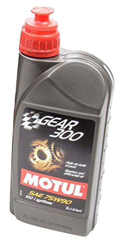 Motul 105777 300 75w90 Gear Oil, 12 l, 1 Pack by Motul