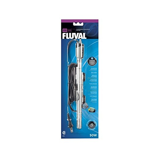 Fluval M50 Submersible Glass Aquarium Heater (50 watts)