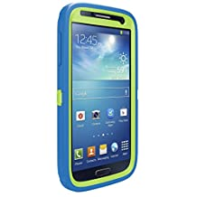 OtterBox Defender Series Samsung Galaxy S4 Case, Retail Packaging, Glow Green/Ocean Blue