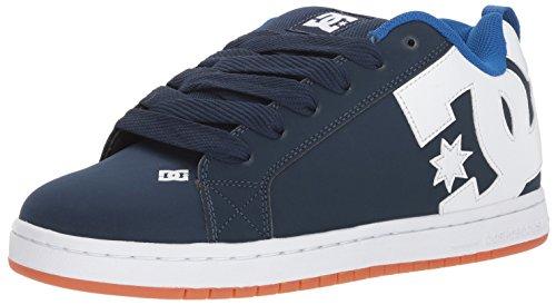Shoe Mens Supreme (DC Men's Court Graffik Skate Shoe, Navy/Royal, 7 Medium US)