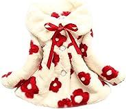 TRURENDI Kids Baby Girls Casual Long Sleeve Cotton-padded Warm Coat Outerwear