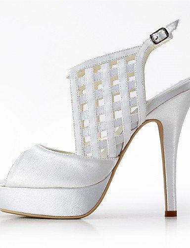 Dressed 3in Wedding Giallo Oro Evening Argento 4in Viola Ggx Rosso Scarpe Beige 3 Rosa beige sposa Nero Bianco da Almond Blu 3 w6T6XPZx