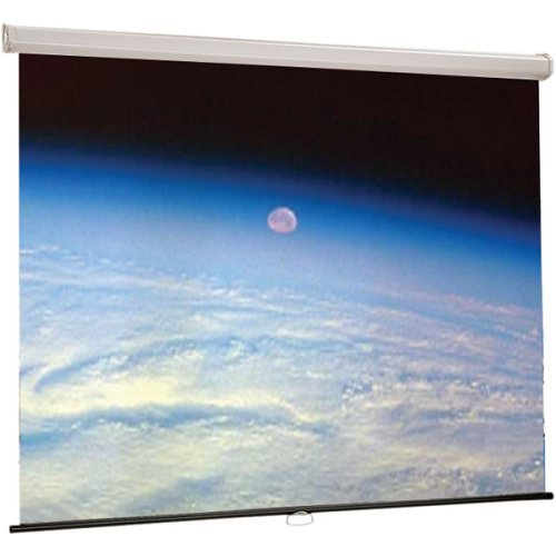 (Luma Matte White Manual Projection Screen Viewing Area: 65