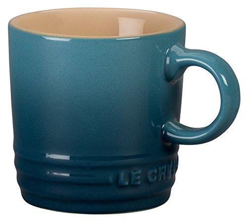 Le Creuset Stoneware Petite Espresso Mug, 3.5-Ounce, Marine